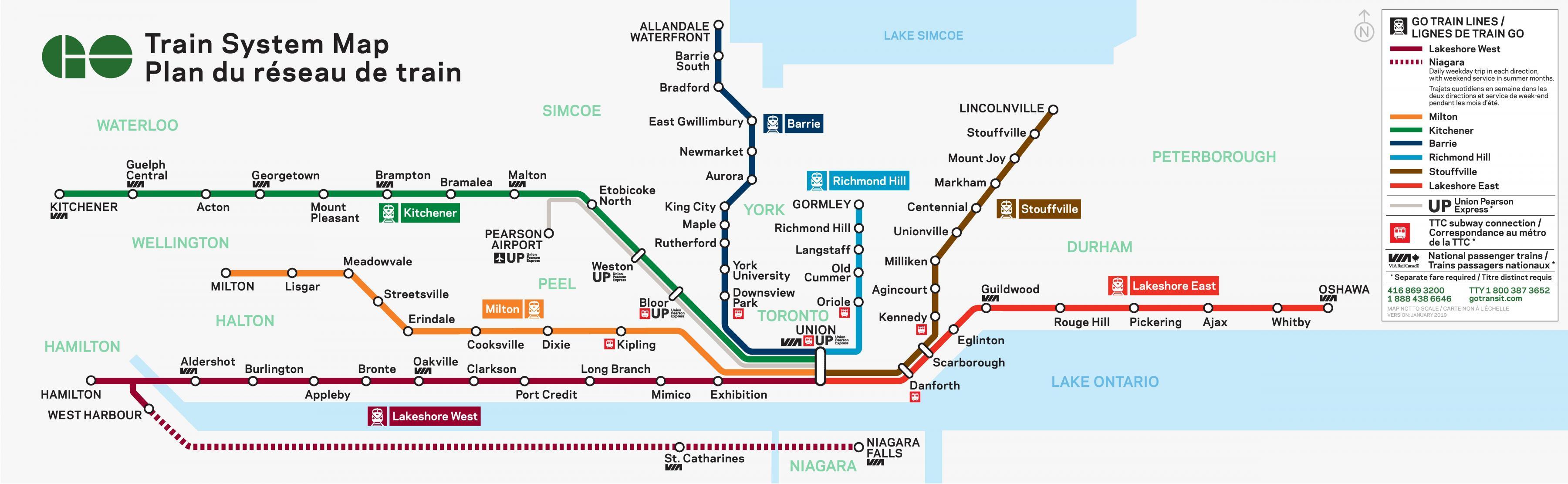 Toronto To Kitchener Go Train Schedule