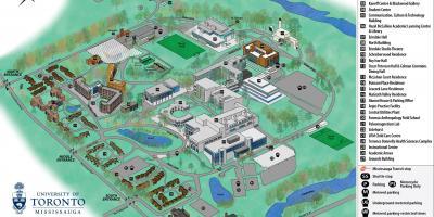 map campus toronto maps university canada